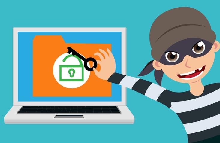 Cyber Criminal Stealing Data